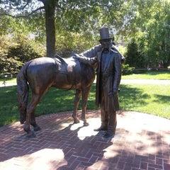 Photo taken at President Lincoln's Cottage by Jennifer N. on 7/25/2012