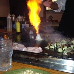Photo taken at Kiku Japenese Steak House by Sara G. on 5/27/2012