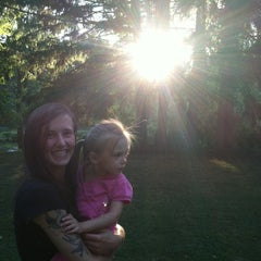Photo taken at Marcellus Park by Geena B. on 8/7/2012