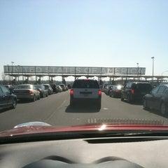 Photo taken at U.S./Canada border - Champlain-St. Bernard de Lacolle Crossing by Joshua R. on 3/18/2012
