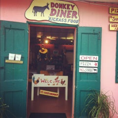 Photo taken at Donkey Diner by Meghan H. on 5/11/2012