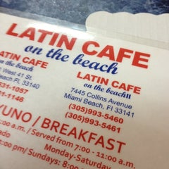 Photo taken at Latin Cafe on the beach by Joeh on 8/19/2012