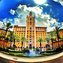 Photo taken at The Biltmore Hotel by Damien F. on 4/16/2012