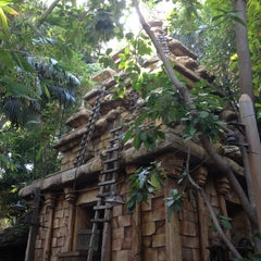 Photo taken at Indiana Jones Adventure by Stephen S. on 7/22/2012