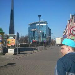 Photo taken at Sosnowiec by Krzysiek N. on 4/9/2012