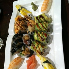 Photo taken at Sushi X: All You Can Eat Sushi by Rach W. on 3/11/2012