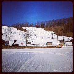 Photo taken at Boston Mills Ski Resort by Brent V. on 2/6/2012