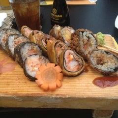 Photo taken at Bonsai Sushi by Dicxon M. on 4/21/2012