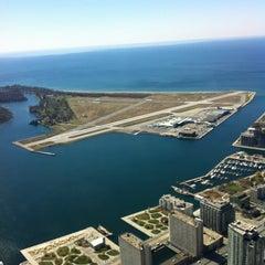 Photo taken at Billy Bishop Toronto City Airport (YTZ) by Stephane L. on 4/9/2012