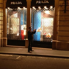 Photo taken at Prada by Alessandro A. on 5/23/2012