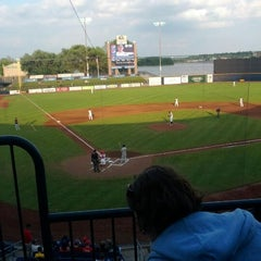 Photo taken at Modern Woodmen Park by Joe D. on 6/3/2012