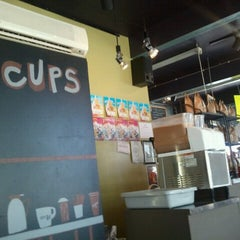 Photo taken at Cups, an Espresso Café by Andy T. on 8/14/2012