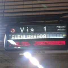 Photo taken at Metro Aluche by Jesus .. on 7/25/2012