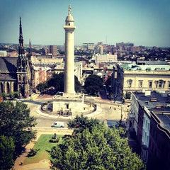 Photo taken at Wyndham Baltimore Peabody Court by Michael M. on 9/7/2012