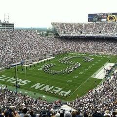Photo taken at Beaver Stadium by Len D. on 9/1/2012