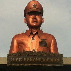 Photo taken at Bandara H. A. S. Hanandjoeddin (TJQ) by Yulianus L. on 3/2/2012