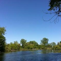 Photo taken at The lake @ Willow Pond by Momiyama K. on 5/13/2012