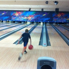 Photo taken at Brunswick Zone - Lowell by Bob L. on 7/19/2012
