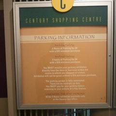 Photo taken at Century Shopping Centre by John P. on 4/29/2012