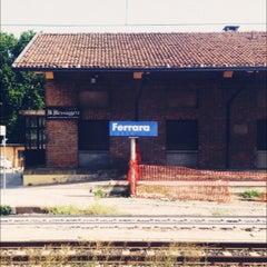 Photo taken at Stazione Ferrara by Roberto M. on 7/28/2012