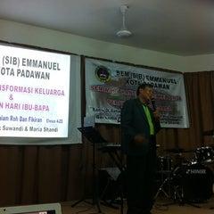 Photo taken at BEM (SIB)  Emmanuel Kota Padawan by Sharon C. on 6/22/2012