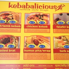 Photo taken at Kebabalicious by Rob Z. on 7/5/2012