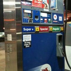 Photo taken at Mobil by Rebekah B. on 2/27/2012