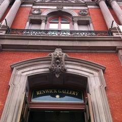 Photo taken at Renwick Gallery by John H. on 7/24/2012