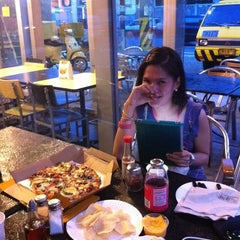 Photo taken at Yellow Cab Pizza Co. by Janille I. on 8/9/2012