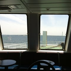 Photo taken at Bridgeport & Port Jefferson Ferry by Cheyenne R. on 5/18/2012