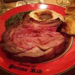 Photo taken at House of Prime Rib by Jerry C. on 8/28/2012