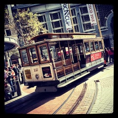 Photo taken at Powell Street Cable Car Turnaround by Diogo R. on 3/10/2012