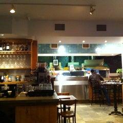 Photo taken at Pizzeria Via Mercanti by Veronica S. on 2/3/2012