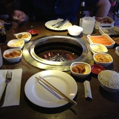 Photo taken at Korean Grill House by Danny on 6/21/2012