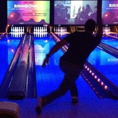 Photo taken at Lucky Strike Miami by miamism on 8/18/2012