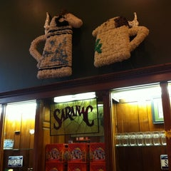 Photo taken at Saranac Brewery (F.X. Matt Brewing Co.) by Jeff C. on 8/30/2012