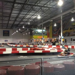 Photo taken at K1 Speed Anaheim by Eric F. on 2/20/2012