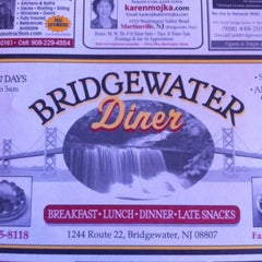 Photo taken at Bridgewater Diner by Mike 🌎 on 8/7/2012