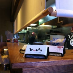 Photo taken at Monta Japanese Noodle House by Nina R. on 7/8/2012