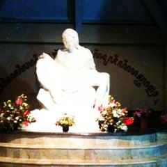 Photo taken at Gereja Peziarahan Salib Suci by Leonardus G. on 5/23/2012