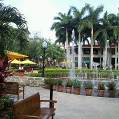 Photo taken at Shops at Merrick Park by Brett V. on 7/6/2012