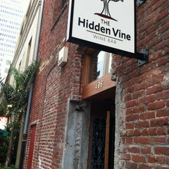 Photo taken at The Hidden Vine by Kate F. on 4/12/2012