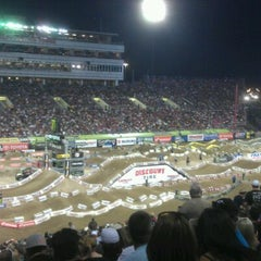 Photo taken at Sam Boyd Stadium by Keola F. on 5/6/2012