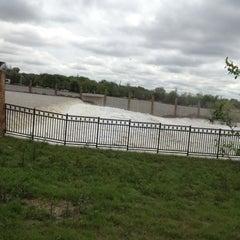 Photo taken at White Rock Lake Spillway by Kyle R. on 3/20/2012