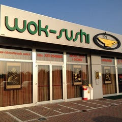 Photo taken at Wok-Sushi by Gabriele B. on 6/21/2012