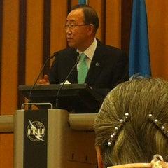 Photo taken at International Telecommunication Union by Ekaterina B. on 4/12/2012