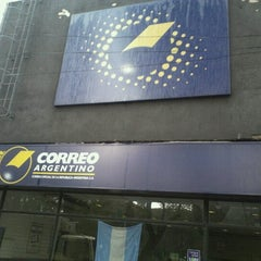 Photo taken at Correo Argentino by Jorge Diego O. on 8/11/2012