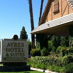 Photo taken at Ayres Hotel Suites & Convention Center by Paul G. on 9/2/2012