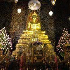 Photo taken at วัดพิชยญาติการาม (วัดพิชัยญาติ) Wat Phichaiyatikaram by Joobjang N. on 4/15/2012