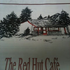 Photo taken at Red Hut Waffle Shop by Lynn B. on 3/12/2012